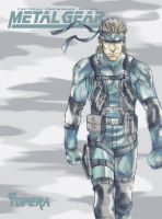 Solid Snake by ToPpeRa-TPR