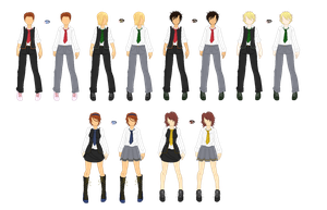 Harry Potter Third Years by Fouffey