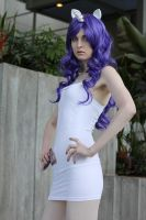 Sakura Con '12 - Rarity by JeiArsenault