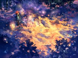The boy who chased fireflies by nuriko-kun