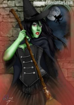 Wicked Witch of the West/Elphaba by zemolee