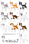 Ginga Adoptables :OPEN: by MayAdopts