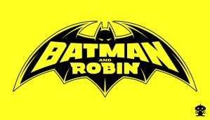 2009 Batman and Robin Comic Title Logo by HappyBirthdayRoboto