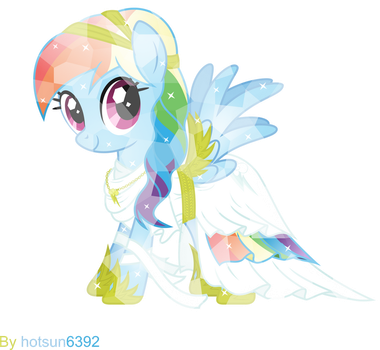 Crystal Rainbow Dash by hotsun6392