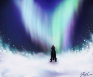 Contest: Magic of the Northern Lights by framtiden