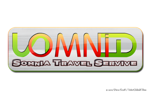 SOMNIA - Travel Service Logo by InterGlobalFilms