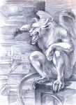 Gargoyle by Shakara-the-Furious