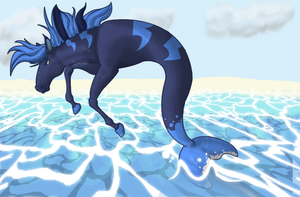 Water horse by Katakire