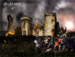 Invasion of Barbarians by superalysson