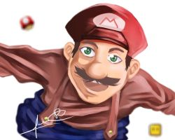 Mario by LuRicharts