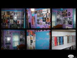 Beatles Theme Bed room by paulbabe