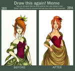 Draw this again - Meme 2. by Vicky-Pandora