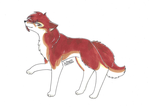Rusted Wolf by Snowstorm102