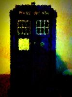 TARDIS through Vincent's eyes by vanessaisha