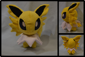 Jolteon Pokedoll Plush by Mlggirl