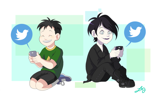 SP: tweeting by ishimaru-miharu