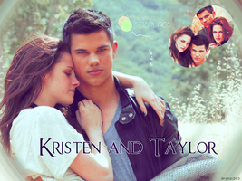 Kristen and Taylor Wallpaper by franzi303