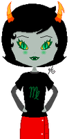 Kanaya Chibi Pixel by Dreams-of-Impact