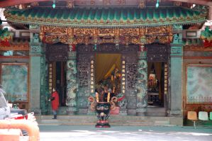 Shrine in Taiwan by Malakhite