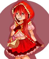 (Quick) Lil Red Kyouko Hood by pupurutier
