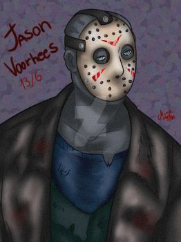 Friday the 13th: Jason Voorhees (Fanart) by MissMonahell