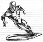 The Silver Surfer by splendidriver