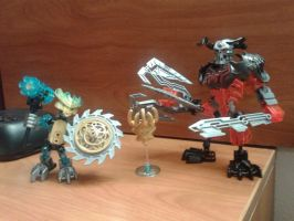 Mini Mask Maker and Skull Grinder by ScoBionicle99