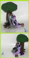 Twilight Sparkle and OC pony custom commission FIM by MadPonyScientist