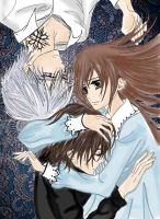 Vampire Knight - Love Triangle by LibertyBella