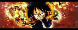 Sign. Luffy by Socrqte