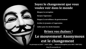 Soyez le Changement by OpGraffiti