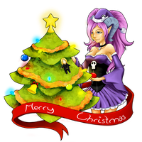 Decoring the christmas tree by wind-hime-kaze
