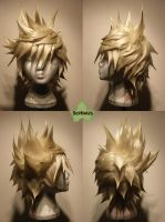 Wig Commission - Roxas 2 by kyos-girl