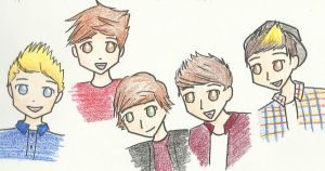 One Direction by Iluvtoonlink