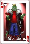 Daross - King of Hearts by CerberusLives
