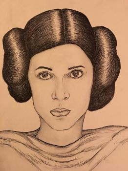 Princess Leia (Carrie Fisher) Star Wars by conwaysuccess