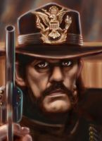 Cowboys From Hell Lemmy by great-master