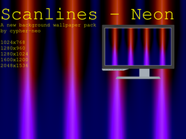 Scanlines - Neon by cypher-neo