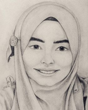 Self-Portrait by Laily95