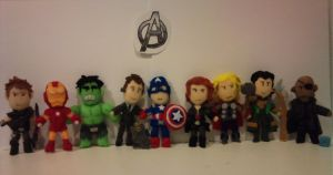The Avengers Set by mightymola