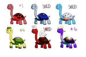 adopts TURTLES!!! -OPEN- by zatalova