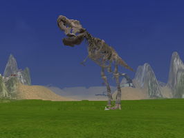 Do you Dare Mess with the Skele-Rex? by Kala-IT-Screenshots