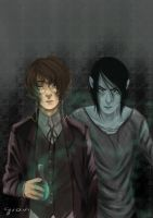 Dr. Jekyll and Mr. Hyde by callmeatraitor