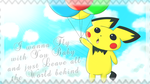 Balloon Pichu is Flying by Nekokan-L