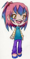OMG ITS ANOTHER RANDOM CHIBI by Hikaricheese