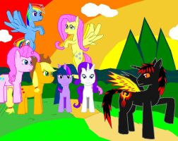 MLP:FIM: Ravenfire Chapter 6 Meaning of Friendship by AllenRavenix