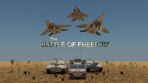 The Battle of Freedom by Binary-Map
