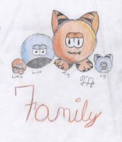 Fuzzum Family by kyofanatic1