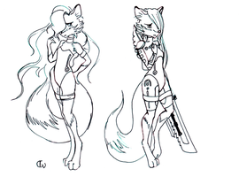 Vixens by Wingless-sselgniW