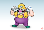 Wario Only by LazerSofa